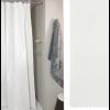 tenda doccia bianca