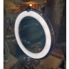 specchio ventosa meccanica luce led 5x