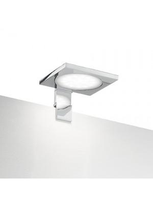 lampada quadro fissaggio su specchio