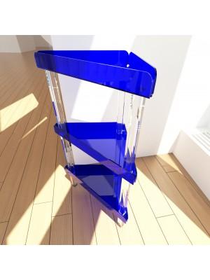 Carrello plex triangolare 90° 3 piani
