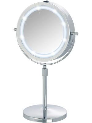 specchio appoggio led batteria