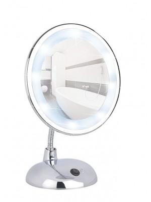 specchio appoggio led bro