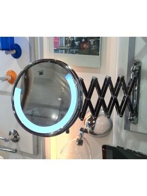 Specchio Led pantografo