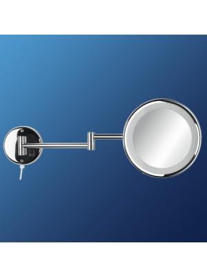 Specchio 2 bracci con luce