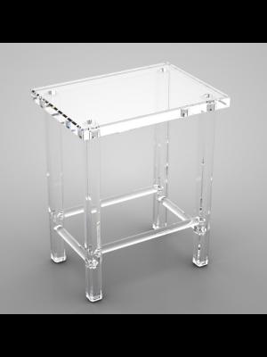 Sgabello quadrato plex