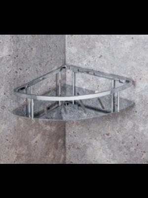 mensola doccia triangolare a piastra