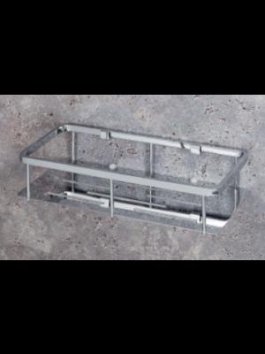mensola doccia rettangolare a piastra