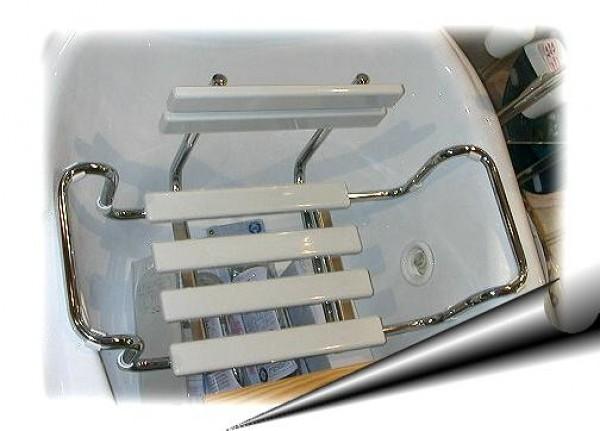 Sgabello bar o casa grigio chiaro h max cm arredo moderno