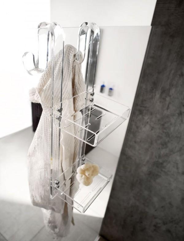 mensola doccia 2 piani largo 21
