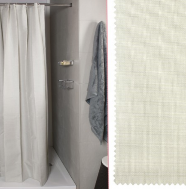 tenda doccia lino