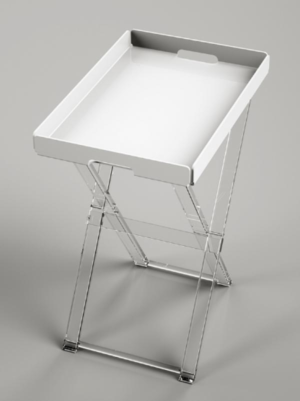 tavolino pieghevole asportabile