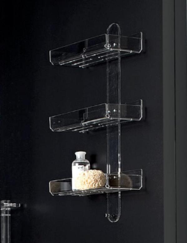 mensola doccia plex 3 piani