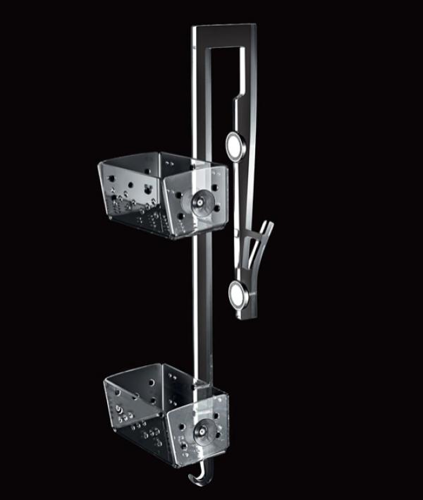 cesto doccia con magnete per box doccia con ante scorrevoli